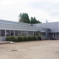 Ny fasade Sulland bilskadesenter Hamar